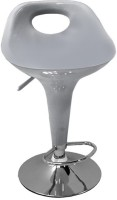 Arena Synthetic Fiber Bar Stool(Finish Color - Silver)