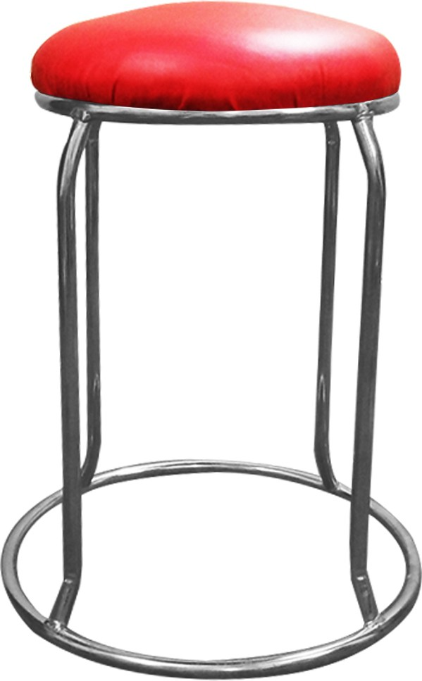 View AdevWorld Metal Bar Stool(Finish Color - Aluminium Finishes) Furniture (AdevWorld)