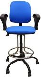 Mavi Fabric Bar Chair (Finish Color - Bl...