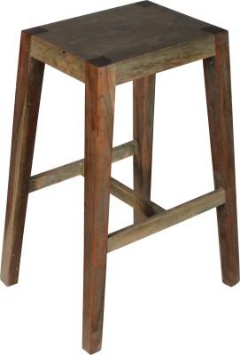 Hastkala Solid Wood Bar Stool