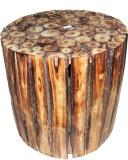 Krishak Solid Wood Bar Stool (Finish Col...
