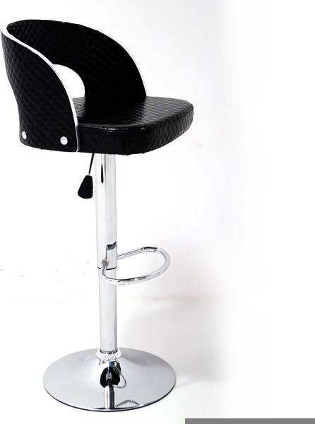 View Arena Leatherette Bar Stool(Finish Color - Black) Furniture (Arena)