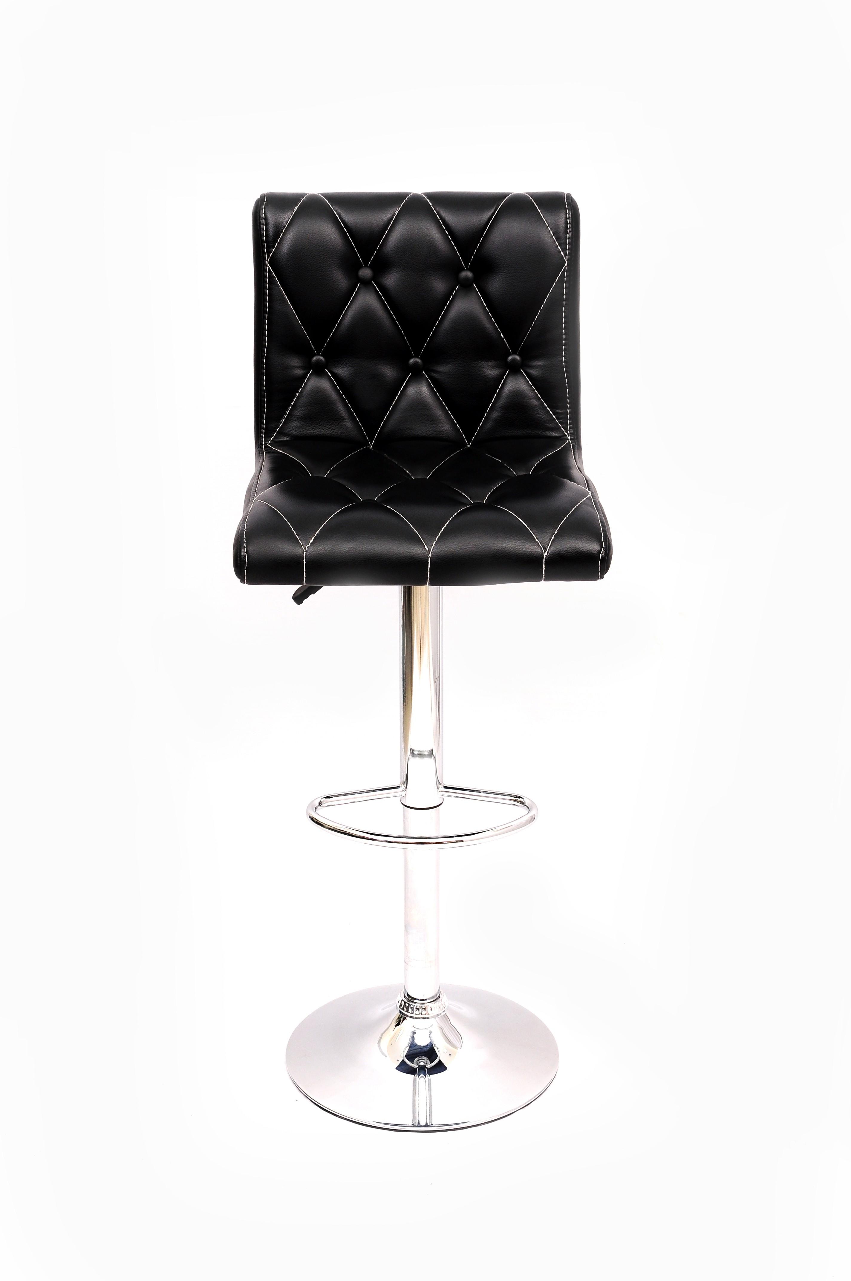 View Magnus Leatherette Bar Stool(Finish Color - Black) Furniture (Magnus)