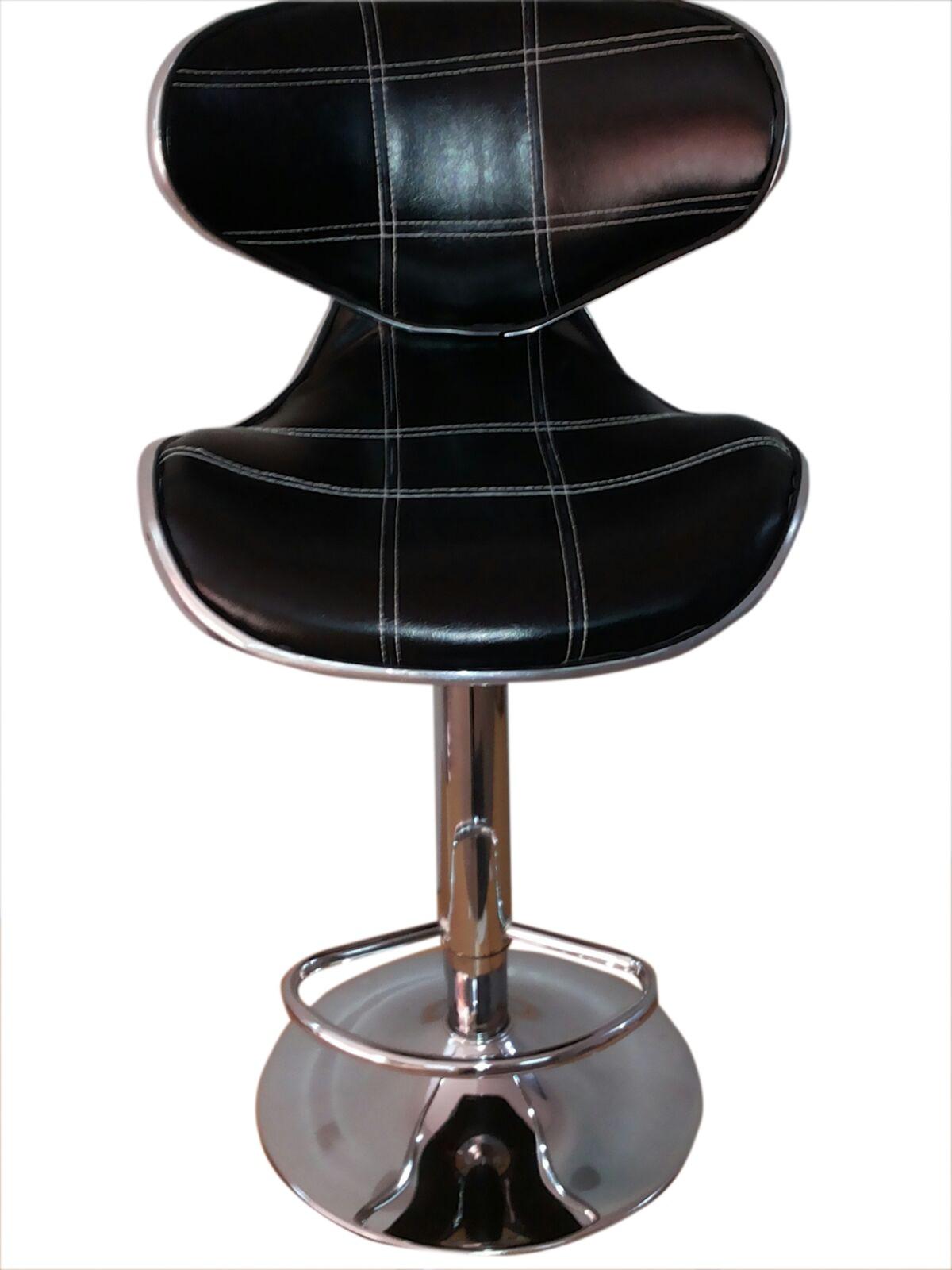 Furniture First Kenzo Half-leather Bar Chair