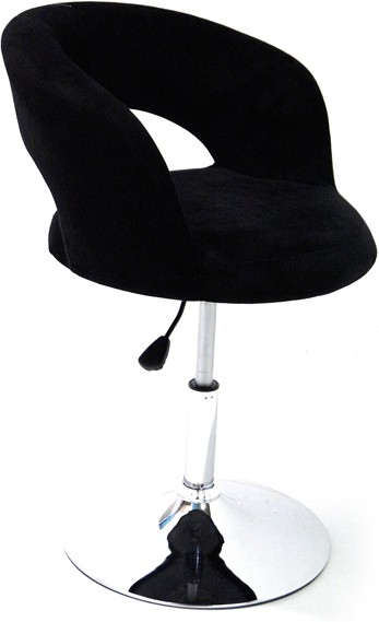 View Arena Leatherette Bar Chair(Finish Color - Black) Furniture (Arena)