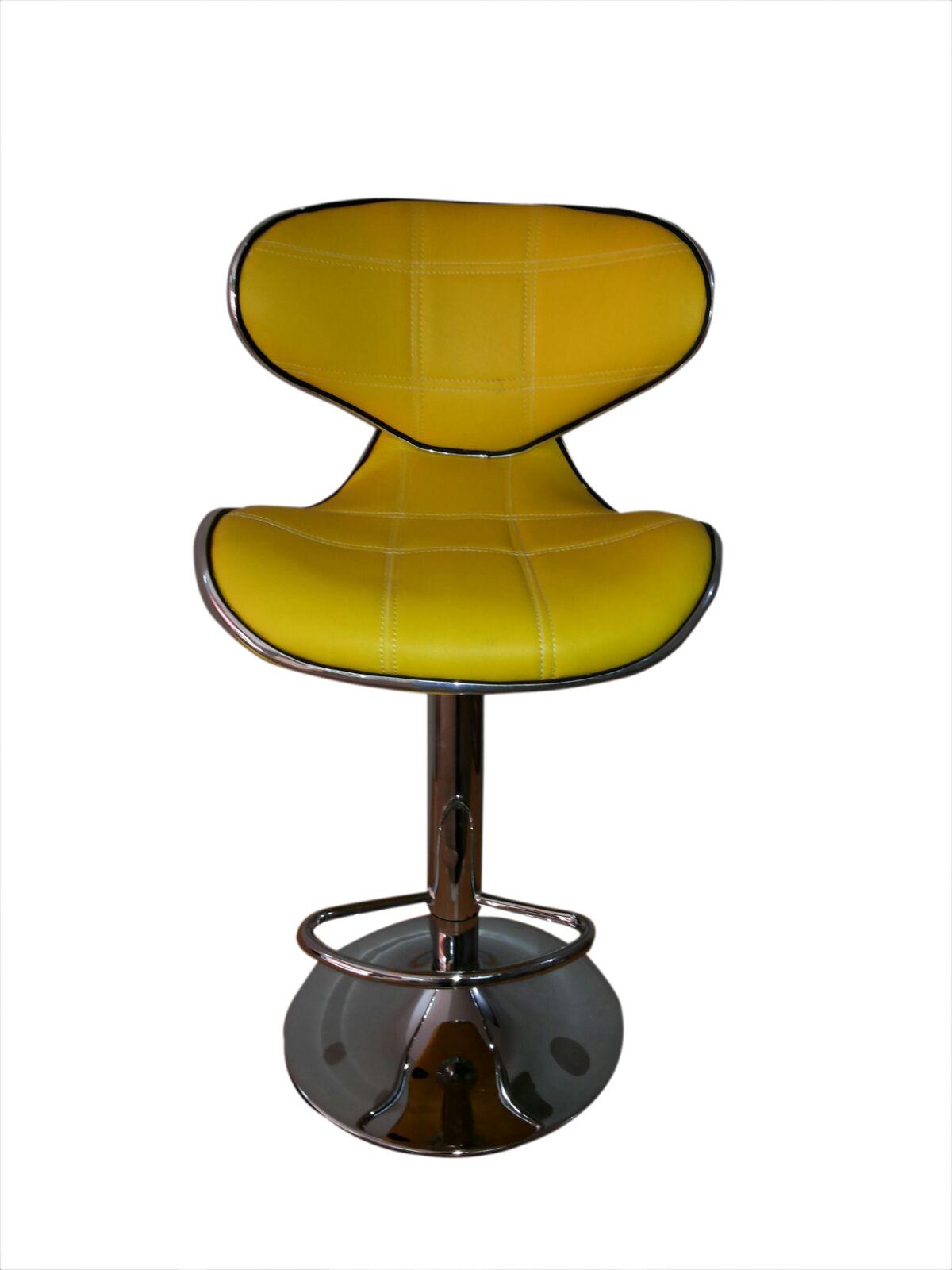 Furniture First Danta Half-leather Bar Chair