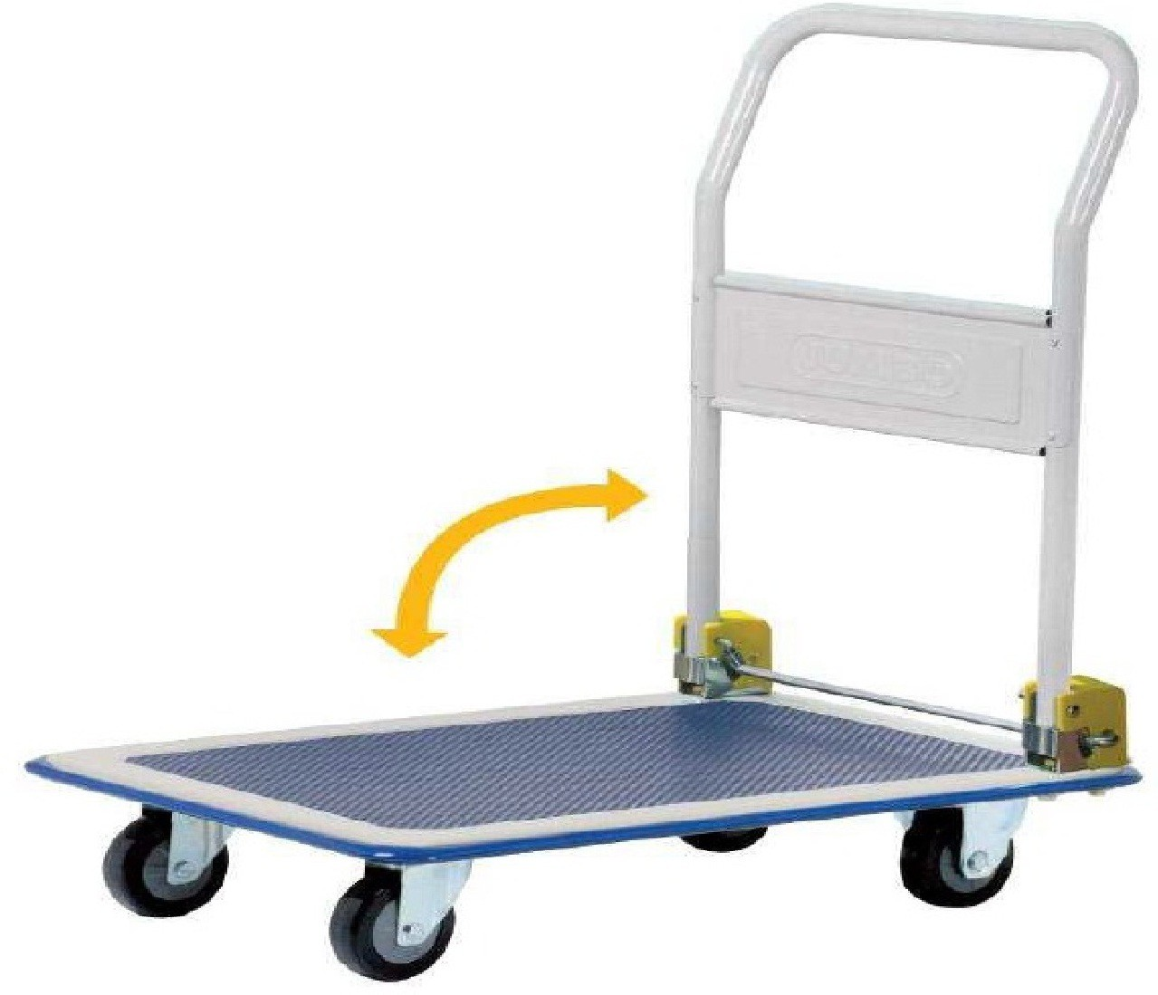 View Mystical PT001 Metal Bar Trolley(Finish Color - Black / Blue) Furniture (Mystical)