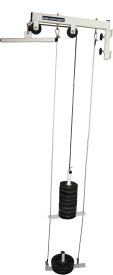 Home Gym Dynamics Folding LAT/TOP/TRICEP Pulley with anti Swing mecahnism Triceps Bar