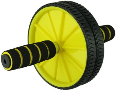 MD Ab-Exercise Wheel - Yellow Ab Exerciser