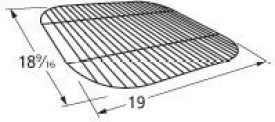 Music City Metals 44281 Grill Cooking Grid