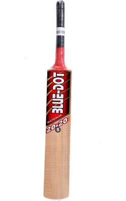 Blue Dot Leather No.5 K.W. Kashmir Willow Cricket  Bat