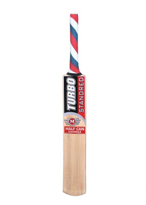 TURBO STANDRED (THICK BLADE) Poplar Willow Cricket  Bat