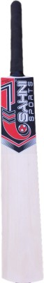 Sahni Sports Stroke Poplar Willow Cricket  Bat