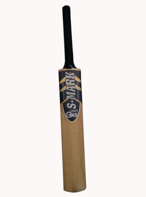 S-Mark Gold Kashmir Willow Cricket  Bat