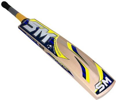 SM Fanatic Kashmir Willow Cricket  Bat