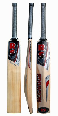 RS Robinson Recorder Kashmir Willow Cricket  Bat(Short Handle, 1100-1250 g)