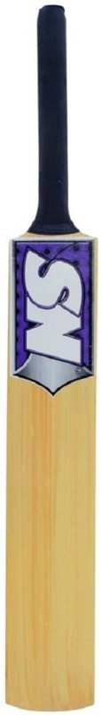 SN International Tennis (Multiple Stickers) Poplar Willow Cricket Bat(33 inch,...