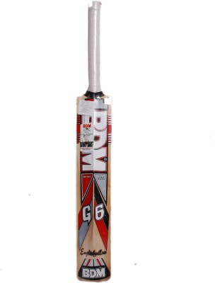 BDM G-6 English Willow Cricket Bat(Short Handle, 1100-1200 g)