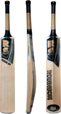 Rs Robinson Gold English Willow Cricket  Bat