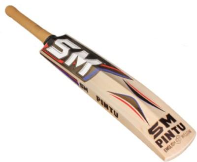 SM Pintu US 100 Plus English Willow Cricket  Bat