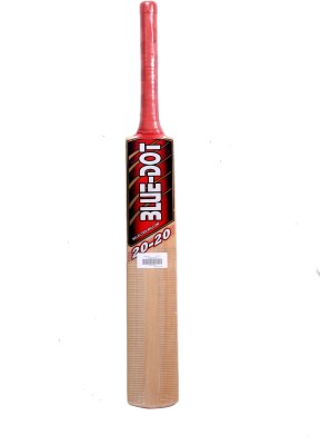Blue Dot Leather T-20 K.W. Kashmir Willow Cricket  Bat