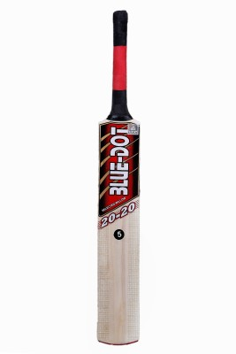 Blue Dot 2020 Leather Kashmir Willow Cricket  Bat