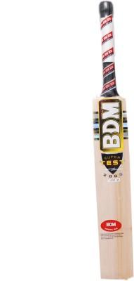 BDM Super Test 2000 Kashmir Willow Cricket Bat(Short Handle, 1200-1250 g)