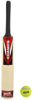 KKS Champ Poplar Willow Cricket  Bat(5, 400-450 g)