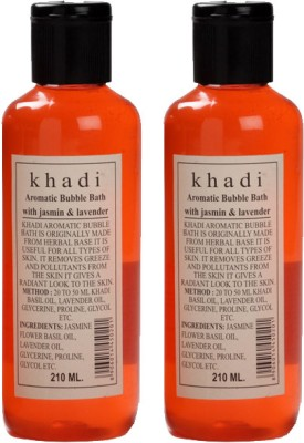 khadi Natural Herbal Aromatic Bubble Bath