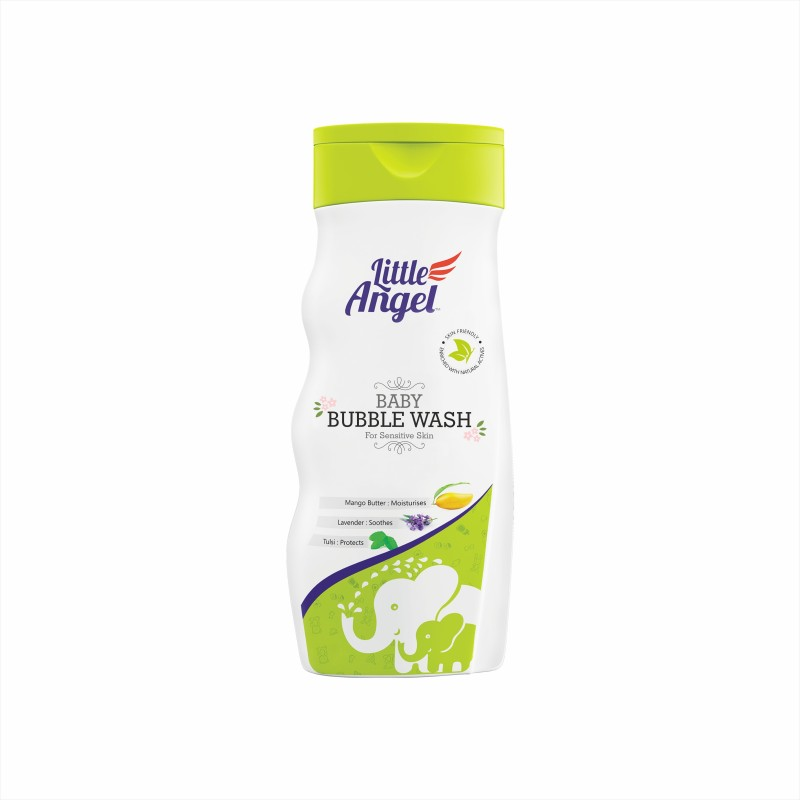 Little Angel BABY BUBBLE WASH(600 ml)