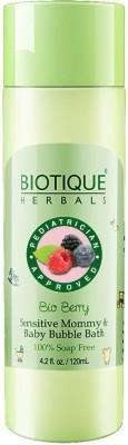 Biotique BIO BERRY SENSITIVE MOMMY & BABY BABBLE BATH 120 ML