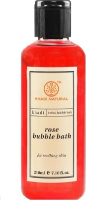 Khadi Natural Rose Aromatic Bubble Bath