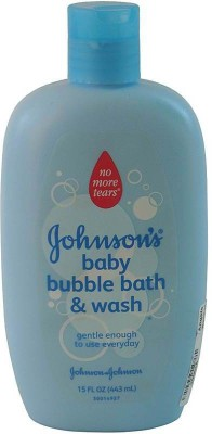 Johnson's Baby Baby Bubble Bath & Wash (Imported)(443 ml)