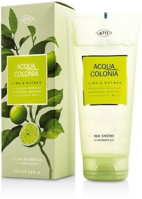 Acqua Colonia - 4711 Lime & Nutmeg Aroma Shower Gel