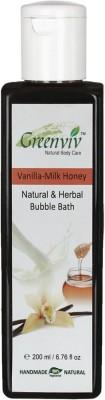 Greenviv Natural & Herbal Milk & Honey Bubble Bath