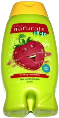 Avon Swirling Strawberry Bodywash and Bubblebath