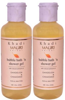 Khadimauri Shower Gel - Pack of 2 - Premium Herbal Ayurvedic