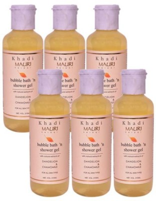 Khadimauri Shower Gel - Pack of 6 - Premium Herbal Ayurvedic