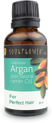 Soulflower Coldpressed Argan Carrier Oil(30 ml)