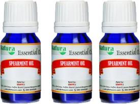 Natura Spearmint (Mentha Spicata) Natural Essential Oil pack of 3
