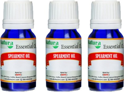 Natura Spearmint (Mentha Spicata) Natural Essential Oil pack of 3