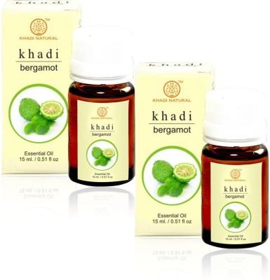 Khadi Natural Natural Bergamot Essential Oil - 15ml (Set of 2)