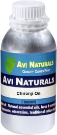 Avi Naturals Chironji Oil, 100% Pure, Natural & Undiluted(500 ml)
