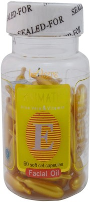 Forteens 60 Vitamin E Facial (Golden) Capsules Oil