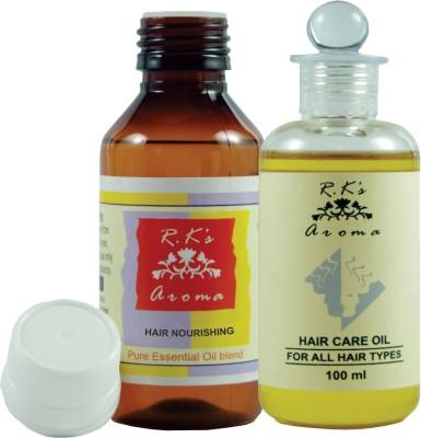 Rk's Aroma Hair Care Oil & Hair Nourishing Oil, Pre blended 100ml & 50ml