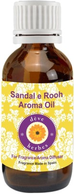 Deve Herbes Sandal -E- Rooh Aroma Oil - 30ml (Fragrance made in Spain)