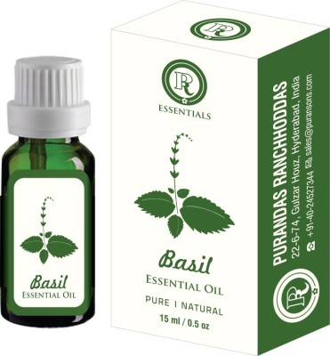 Purandas Ranchhoddas Prs Basil Essential Oil 15ml