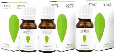 Aroma Treasures Palmarosa Essential Oil 10ml (Pack Of 3)