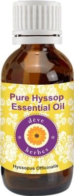 DèVe Herbes Pure Hyssop Essential Oil - Hyssopus Officinalis