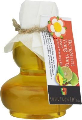 Soulflower Bergamot Ylang Ylang Peace Aroma Massage Oil